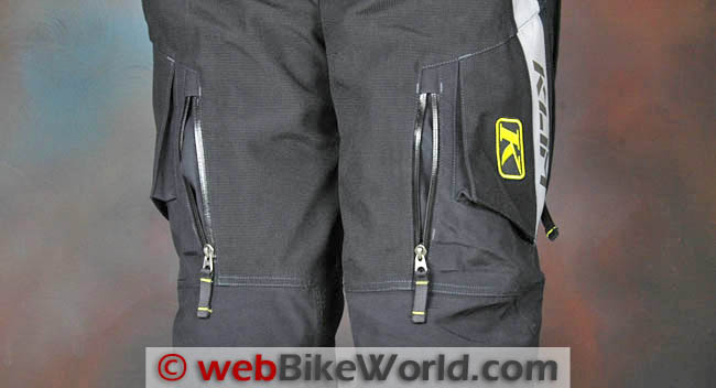 Badlands Pro Pants Rear Leg Vents