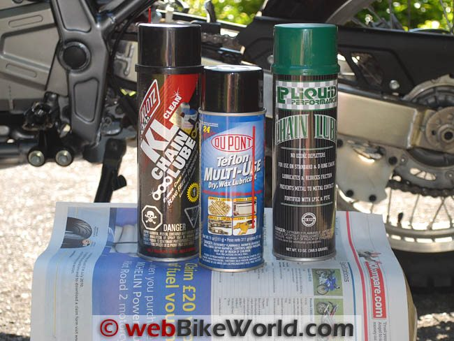 Chain Lubes 2011