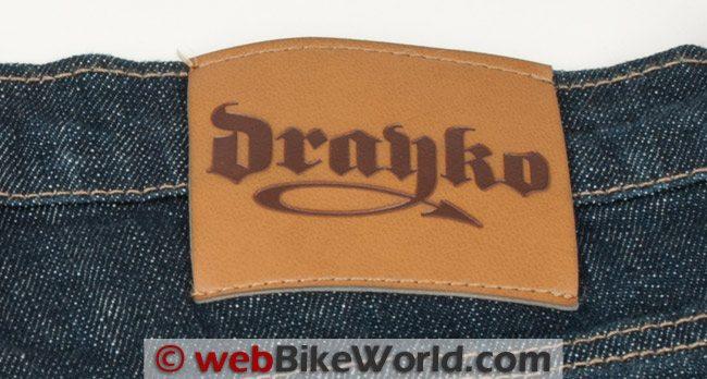 Drayko Drifter Jeans Logo Patch