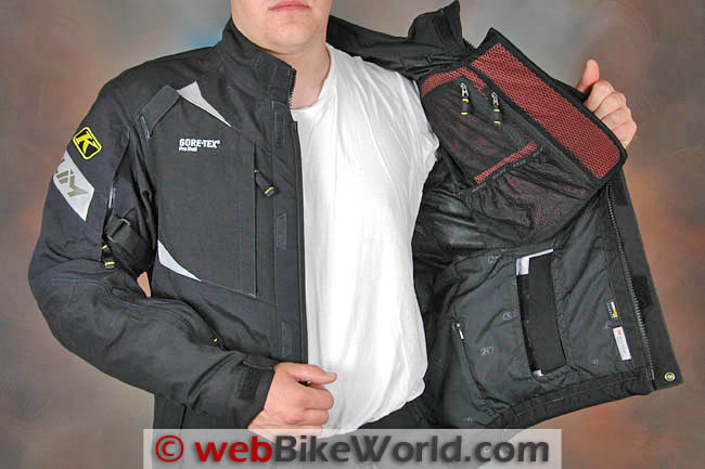 Klim Badlands Pro Jacket Chest Protector