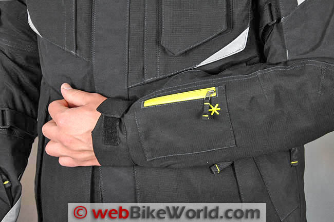 Klim Badlands Pro Jacket Front Arm