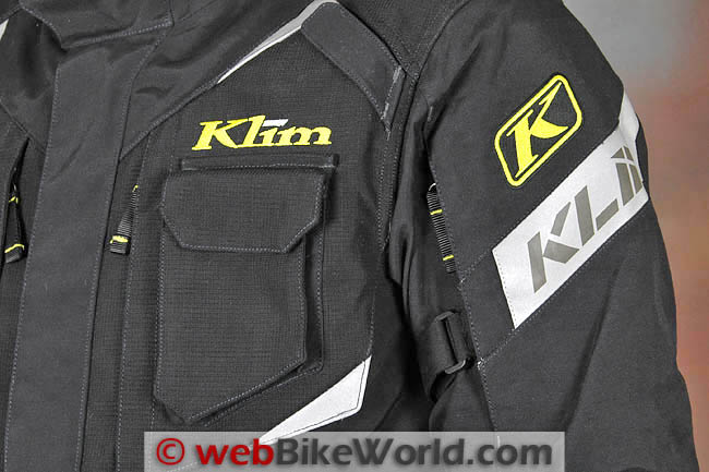 Klim Badlands Pro Jacket Front Pocket
