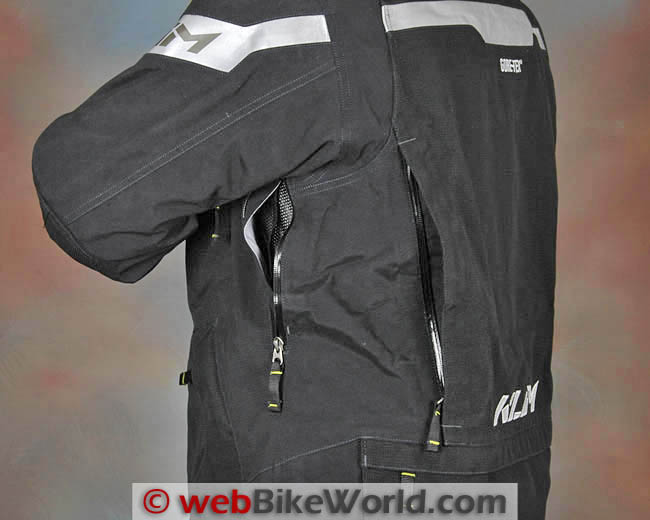 Klim Badlands Pro Jacket Rear Quarter View