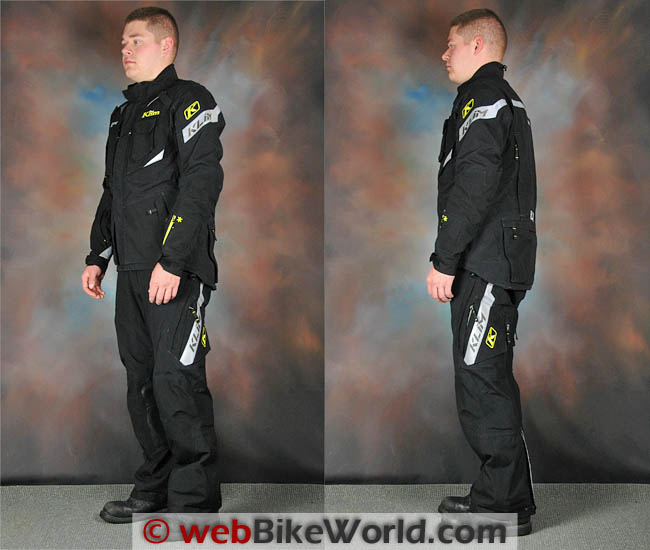 Klim Badlands Pro Outfit Side Views