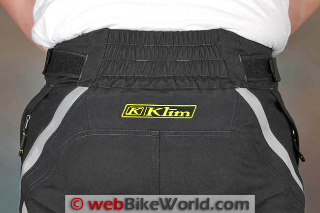 Klim Badlands Pro Pants Rear Waist
