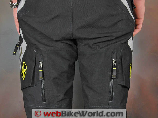 Klim Badlands Pro Pants Seat and Vents