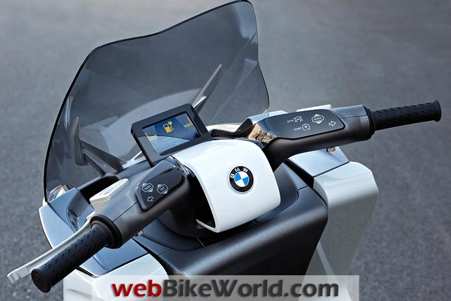 BMW Concept e Dashboard