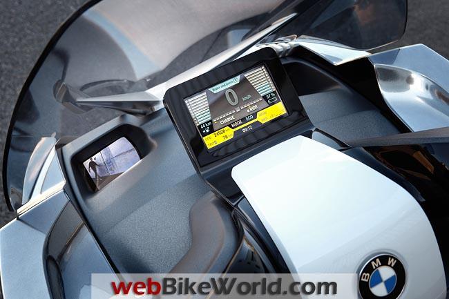 BMW Concept e Instruments
