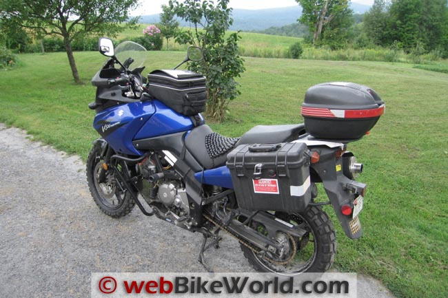 Continental TKC 80 Tires on Suzuki VStrom