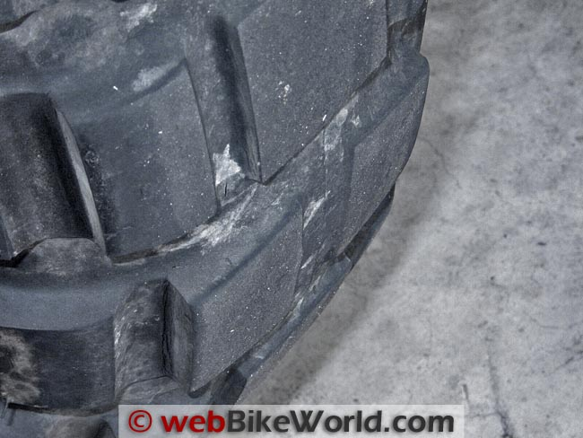 Cotinental TKC 80 Tire Worn
