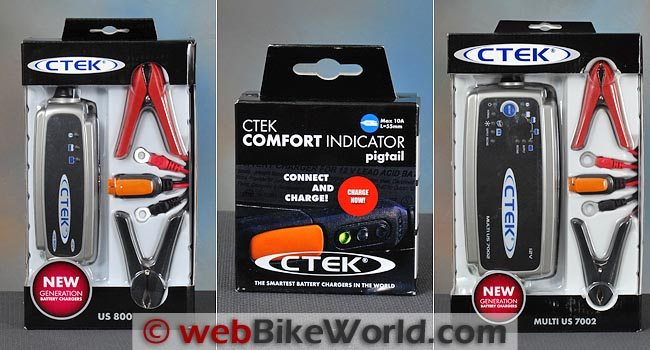 CTEK 800 vs. CTEK 7002 Battery Charger Review webBikeWorld