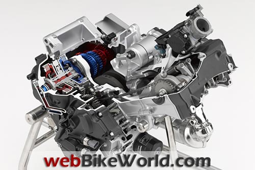 Honda 700cc Engine Internals