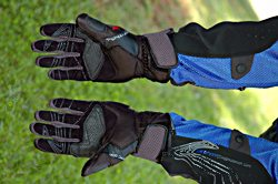 Mesh motorcycle riding gloves - Hurricane gloves by REV'IT!
