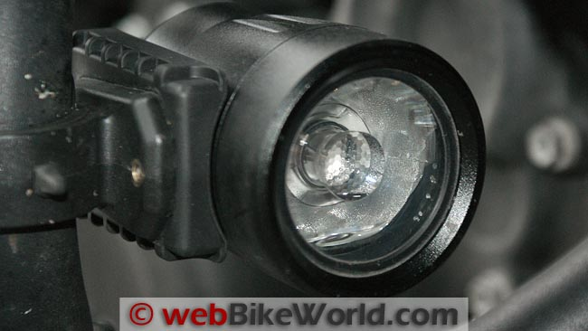 Trail Tech Equinox LED Light Close-up