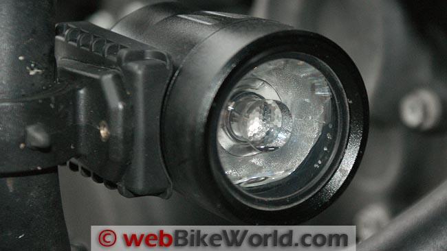 Trail Tech Equinox LED Light Close-up