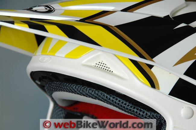 Vemar VRX7 Helmet Brow Vent