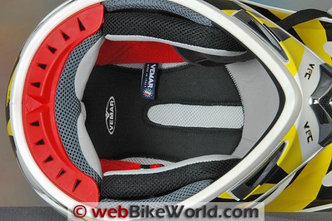 Vemar VRX7 Helmet Liner