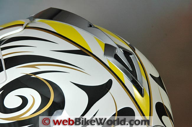 Vemar VRX7 Helmet Rear Exhaust Vent