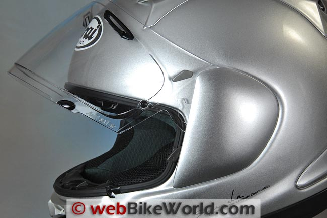 Arai Signet Q Face Shield Removal Mechanism