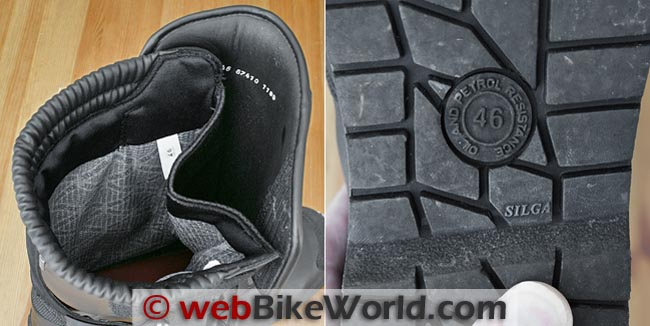 BMW Santiago Boots Liner and Sole