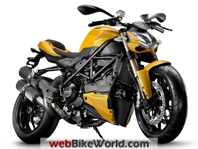 Ducati Streetfighter 848 Front View