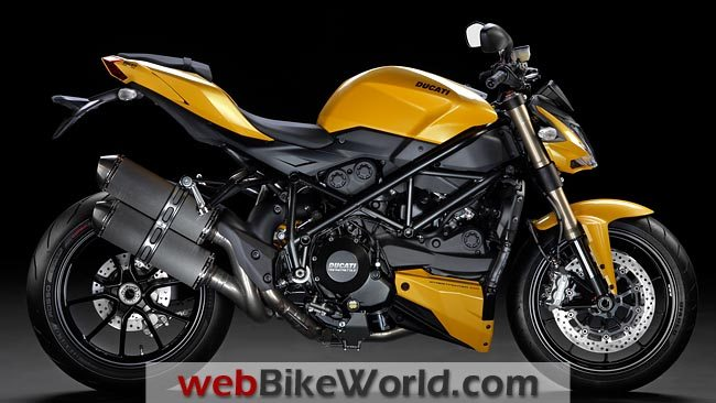 Ducati Streetfighter 848 Side View