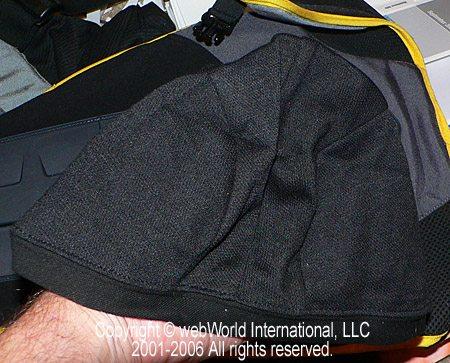 Coolmax Helmet Liner Closeup