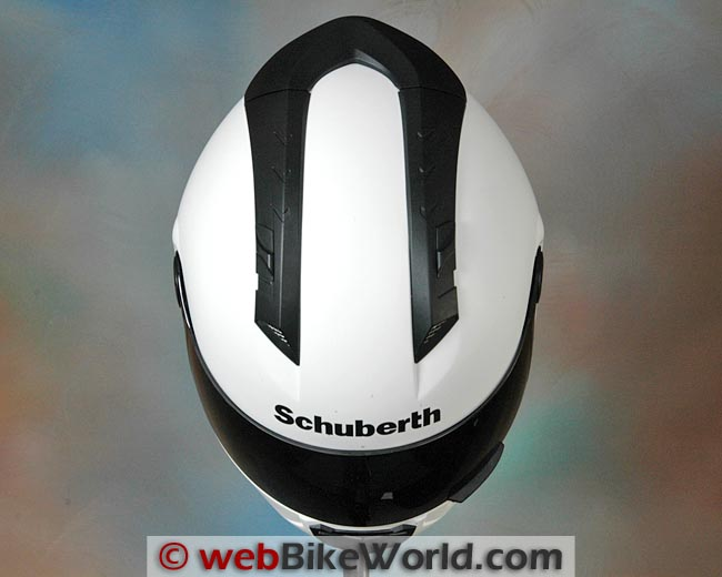 Schuberth SR1 Helmet Top View