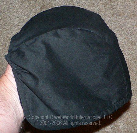 Sliks Satin Helmet Liner Closeup