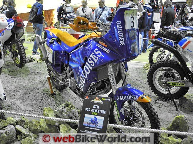 2004 KTM 950 Adventure Front