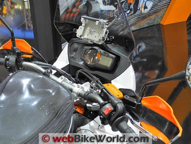2012 KTM 990 Adventure Dashboard