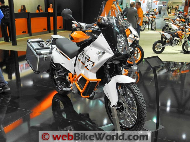 2012 KTM 990 Adventure Front Right