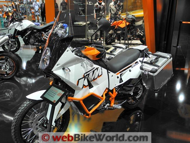 2012 KTM 990 Adventure - webBikeWorld