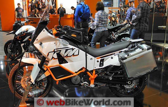 2012 KTM 990 Adventure Left Side