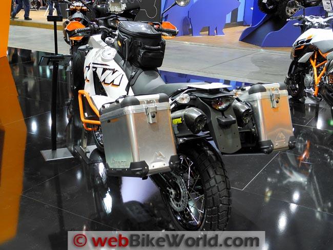 2012 KTM 990 Adventure Luggage Rear