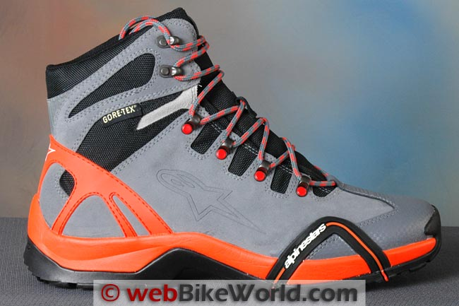 Alpinestars CR-4 Gore-Tex XCR Boots Outside