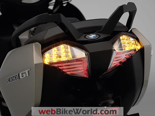 BMW C 600 Rear Lights
