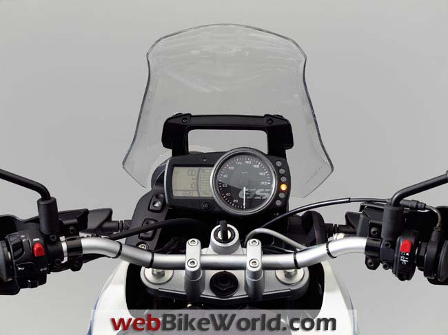 BMW G 650 GS Sertao Dashboard
