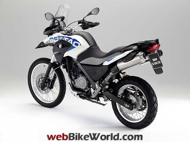 BMW G 650 GS Sertao Left Rear