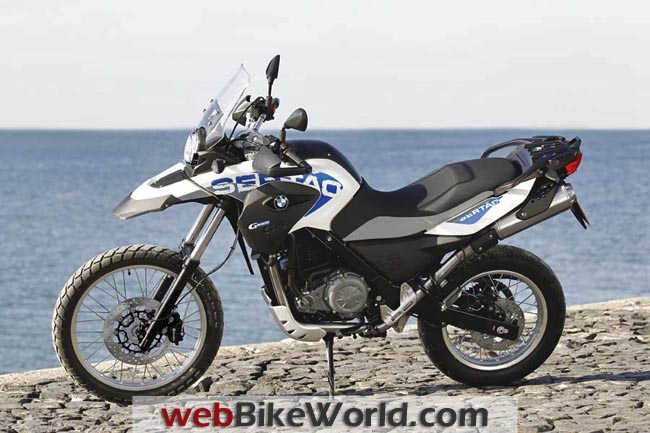 BMW G 650 GS Sertao Left Side