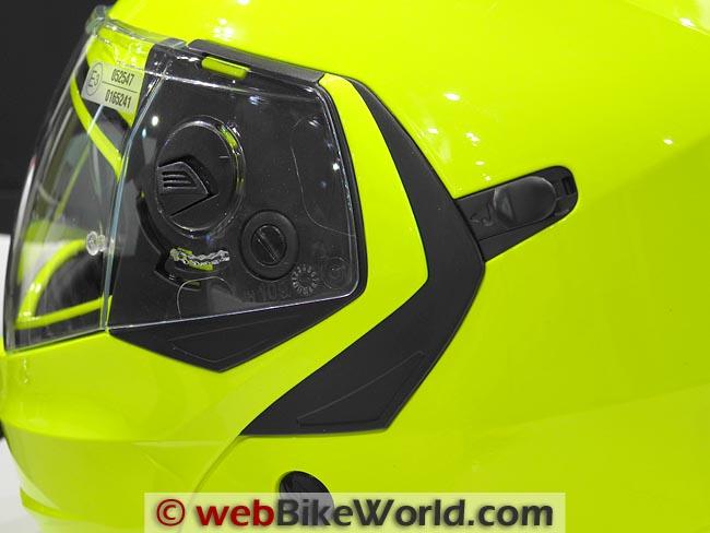 Caberg Duke Helmet Visor Lock