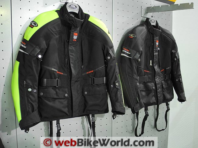 Clover Tekno Jacket Colors