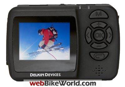 Delkin Wingman HD Camera Rear View