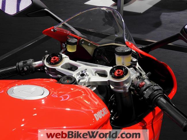 Ducati 1199 Panigale Dashboard