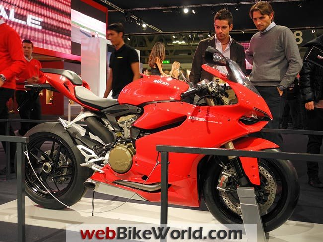 Ducati 1199 Panigale at EICMA