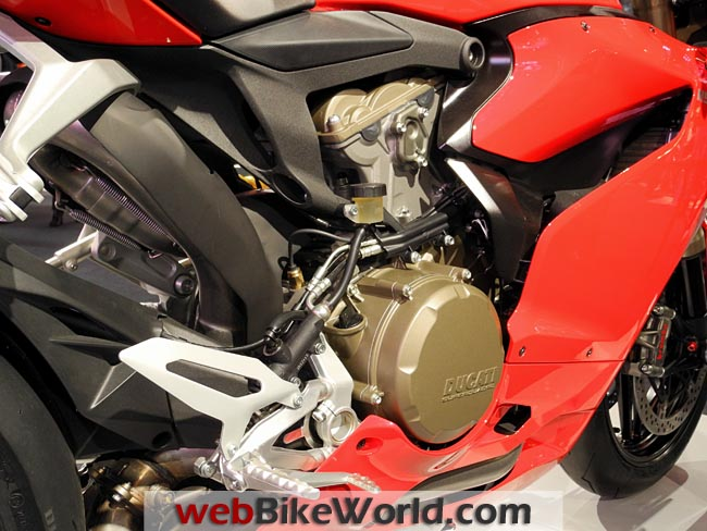 Ducati 1199 Panigale Engine
