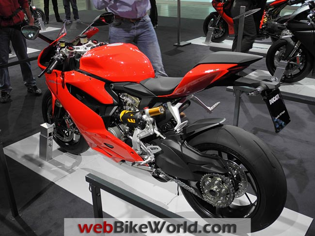 Ducati 1199 Panigale Left Rear