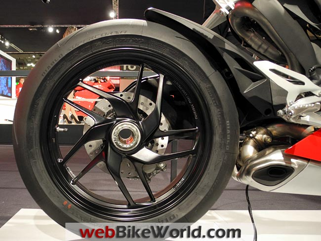 Ducati 1199 Panigale Rear Wheel