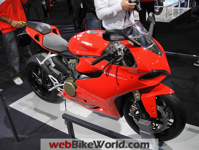 Ducati 1199 Panigale Right Front