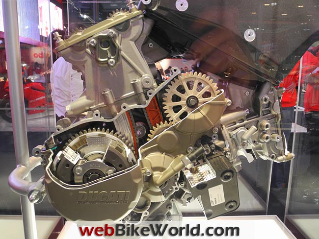 Ducati Superquadro Engine